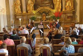 Classical concert at Mirabell Palace